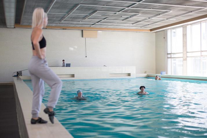 Аэробика в бассейне