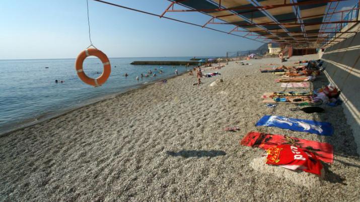 пляж пансионата