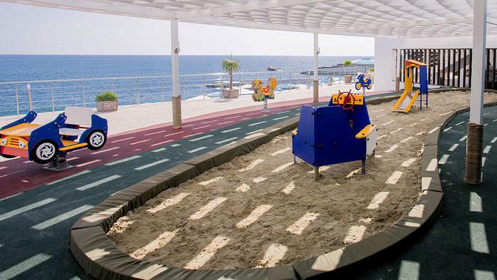 пляжная детская зона