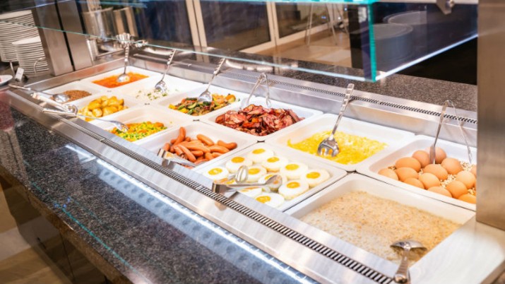 разнообразное питание в санатории