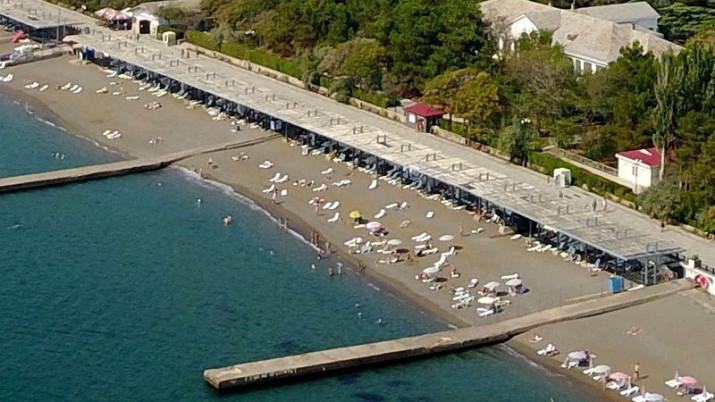 пляж комплекса